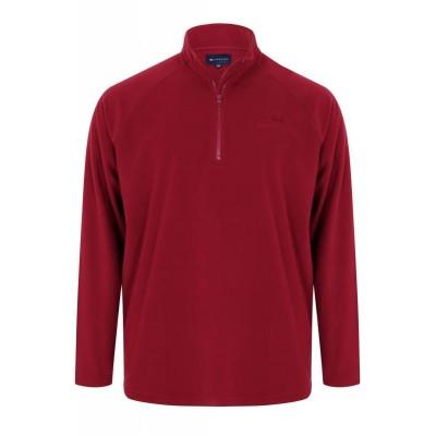 Червено цип Micro Fleece