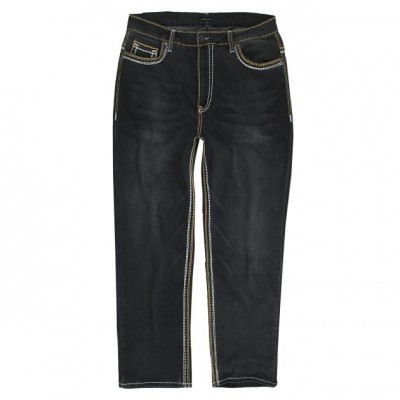 Еластан черни джинси